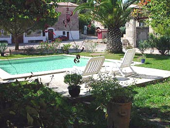 villa Rental pool Beziers , south of france