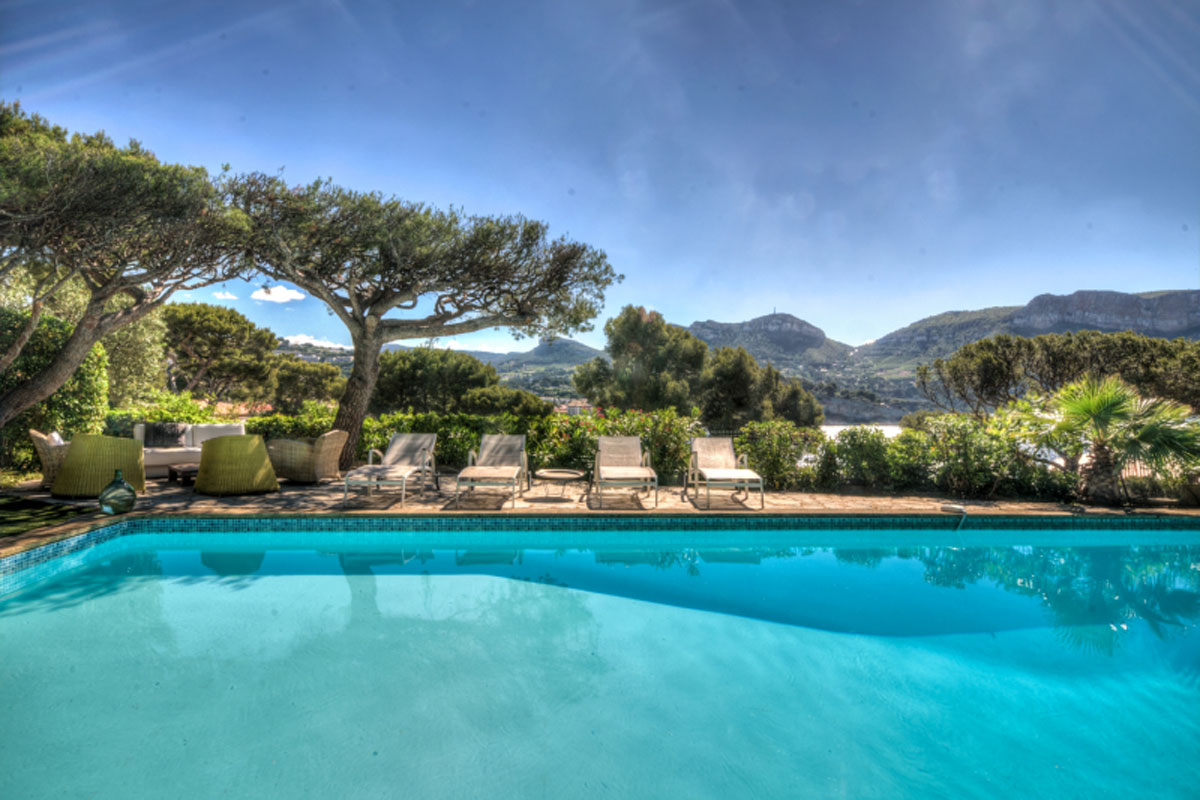 Luxury Villa to Rent in Cassis