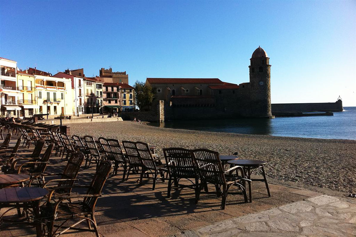 Collioure beach villa