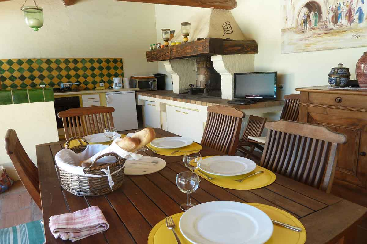 Languedoc villa to rent for 6