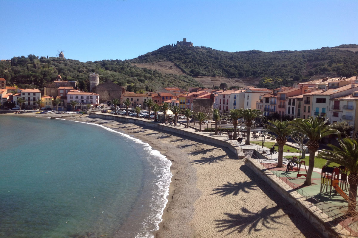 Family Rental Collioure for 8 with pool