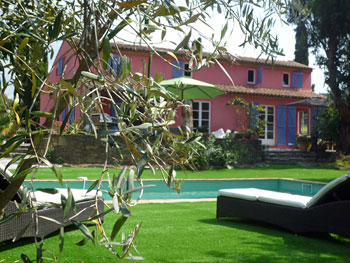 Rental South of France Villa Pool