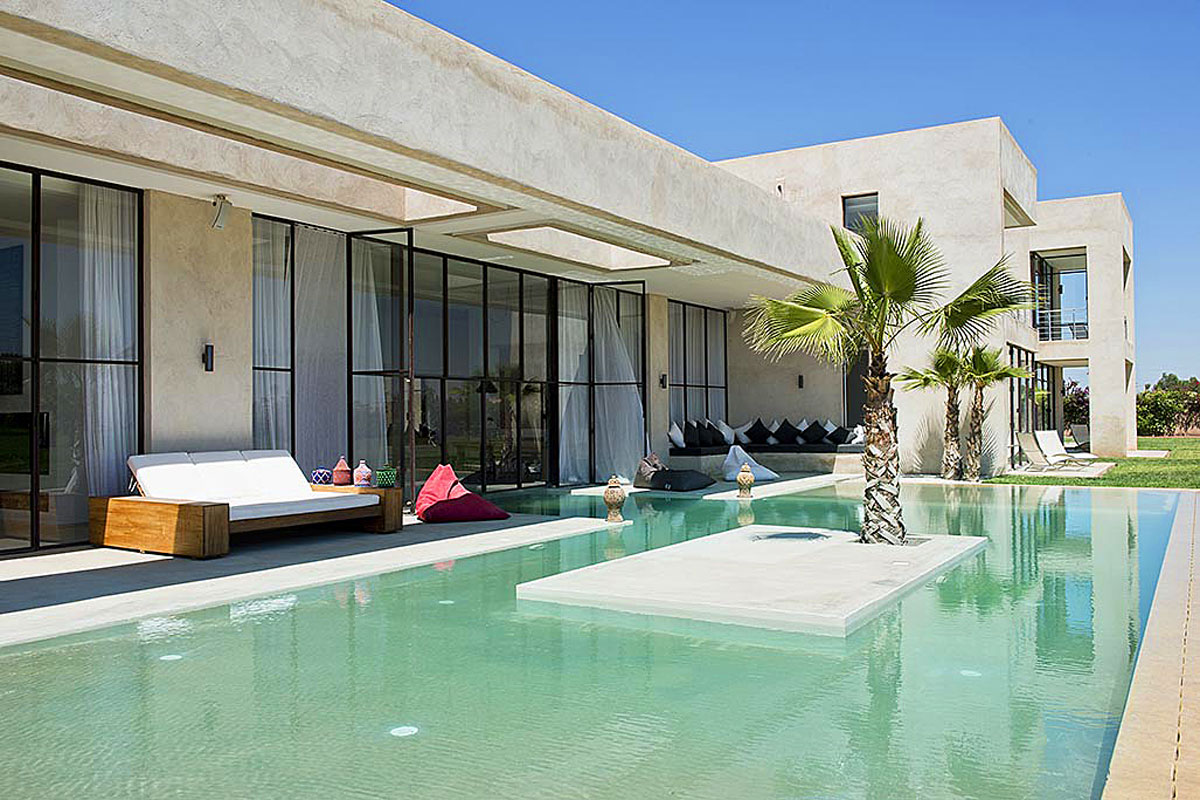 Luxury Modern Villa Rental Morocco