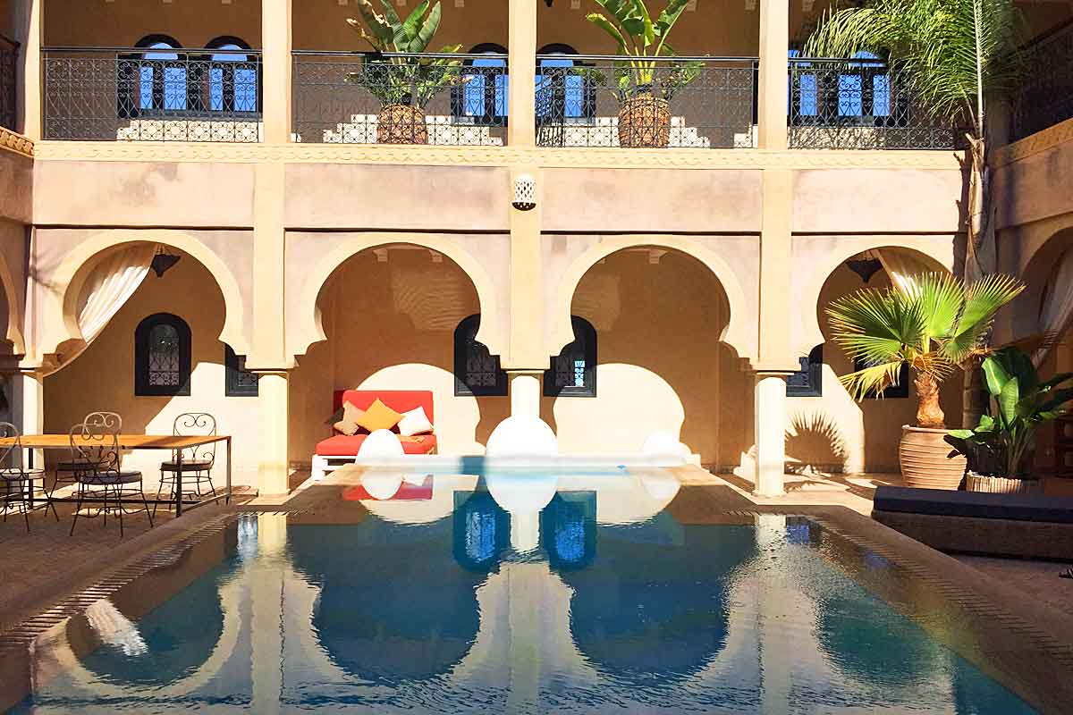 Moroccan Riad ideal Surfer Holiday