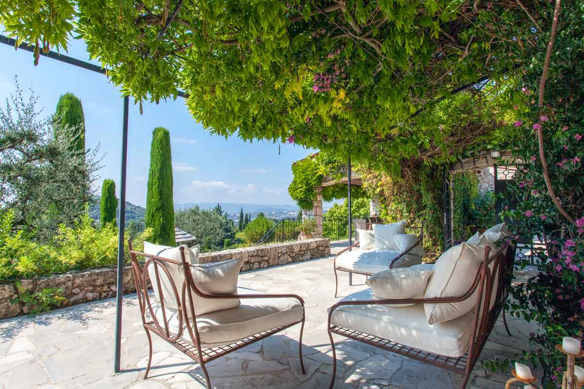 Luxury Rental Villa Magagnosc 10