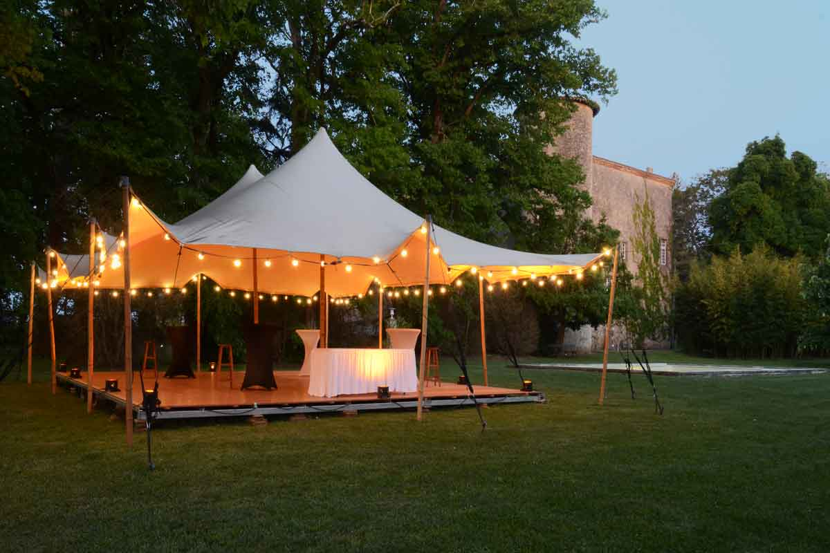 Carcassonne Chateau for a Wedding