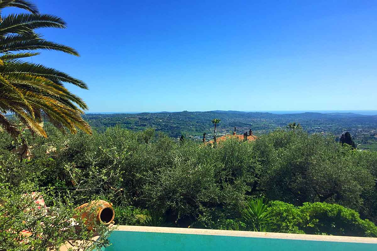 Vacation Villa with pool in Grasse