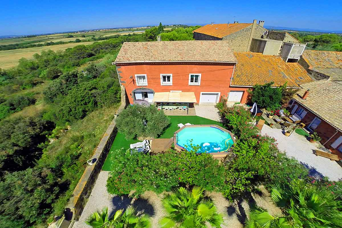 Languedoc Villa Rental with Pool