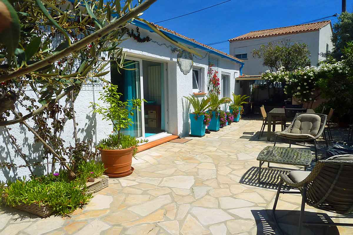 Vacation Rental near Frontignan Beach