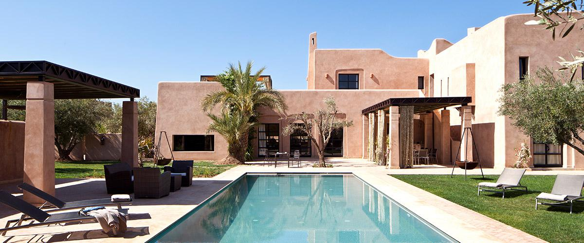 Luxury Villa Rental in Morocco for 10