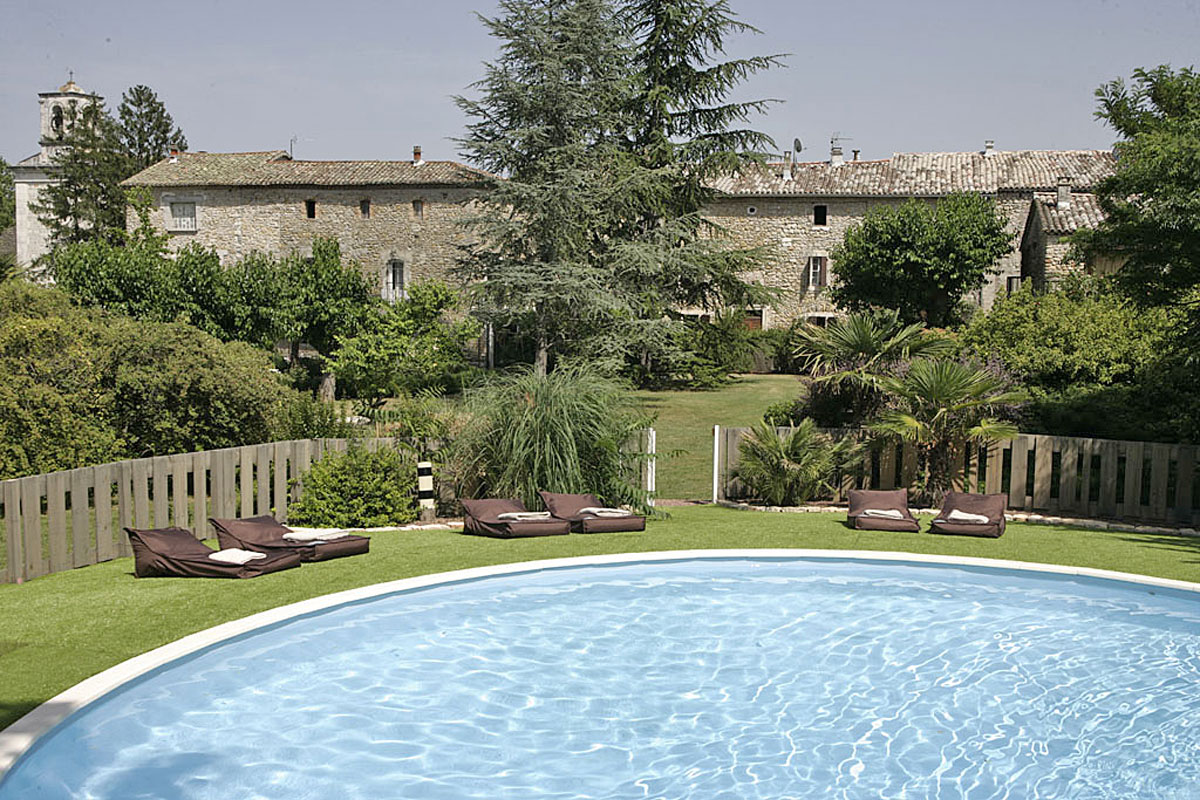 Domain Fontaine du Mas - Large languedoc farmhouse to rent, ideal for weddings