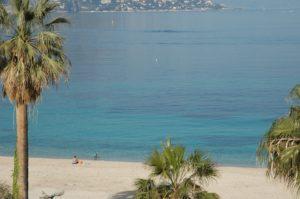 Beach villas south of France