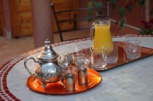 Moroccan villa break